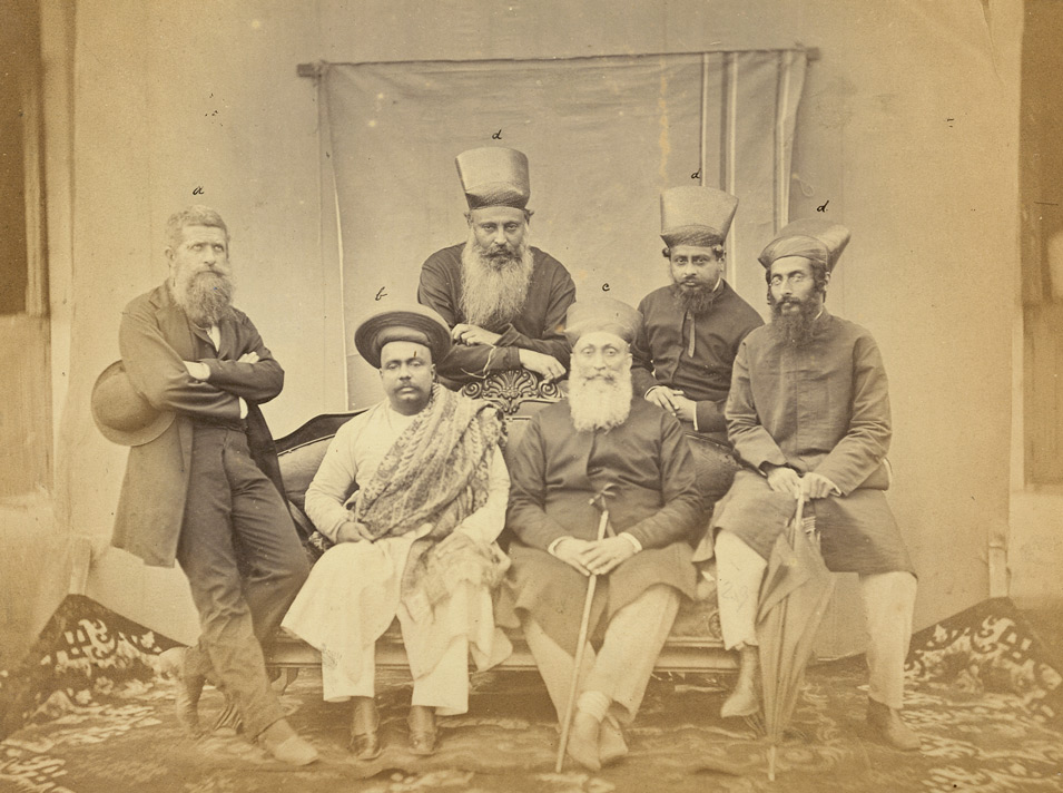 Portrait group, Bombay.